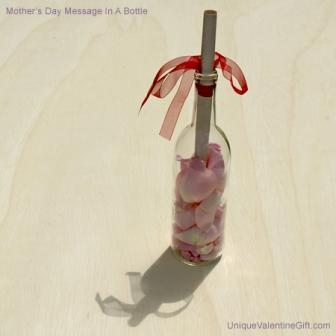 The Mother's Day Message In A Bottle Gift Set